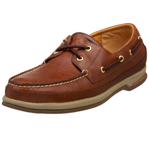 Sperry Top-Sider Men's Gold Cup 2 Eye Boat Shoe,Cognac,7 M