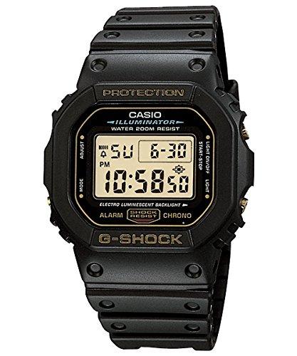 CASIO カシオ Gショック ジーショック G-SHOCK 海外直輸入品 DW-5600E G-9V 黒の G-SHOCK ゴールド液晶 ORIGIN メンズ 腕時計 時計 専用BOXなし 【逆輸入品】