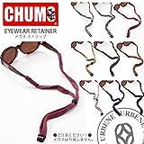 [チャムス] CHUMS メガネ ストラップ アイウェア リテーナ オリジナル スタンダードエンド Original Standard End (ch61-0001) FREE(フリー) レッドボーダー(Red/Grey)