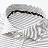 ビサルノ(VISARUNO)ラクチンすっきりYシャツ(クールマックス(R)ファブリック)【グレー(標準)/39(81〜83)】
