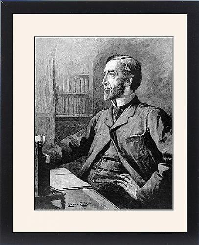 Framed Print Of Arthur Wellesley Peel (1829-1912) From Mary Evans
