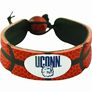 Buy Connecticut Huskies Classic Basketball Bracelet by GameWear