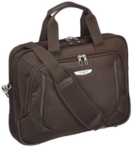 """Samsonite Cartella X'blade Business 2.0 Laptop Portfolio 16"""" 14 liters Marrone (Dark Brown) 57817-1251"""