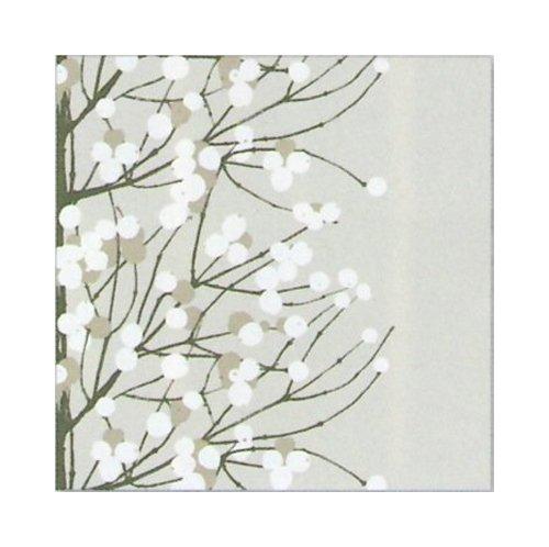 marimekko-finnish-designer-lumimarja-grey-white-berry-floral-luxury-traditional-paper-table-napkins-