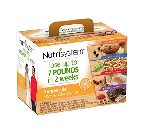 Nutrisystem ® 5 Day Homestyle Favorites. 5 Day Weight Loss Kit, 20 Count Limited Time Only! (Nutrisystem 5 Day Starter Kit compare prices)