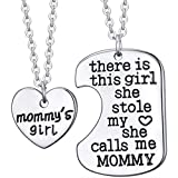 Elefan Cornelia Jewelry Alloy Pendant Necklace Set for Daughter & Mother