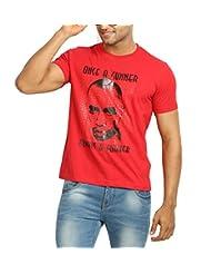 642 Stitches Men's Round Neck Cotton Thierry Henry T-Shirt