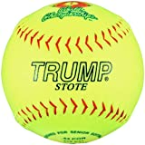 Trump® AK-SS-375 12 Inch 44/375 Official Senior Softball USA Synthetic Leather Softball (Sold in Dozens)