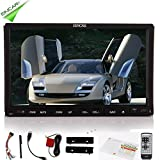 Christmas Sale!!! LCD Eincar 7 inch Double Automotive DIN GPS Navigation for Universal Car USB/SD DVD Stereo Video Audio Auto Radio Double 2 DIN Car Stereo PC Bluetooth iPod Autoradio with Rem