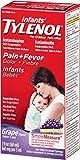 Infants Tylenol Pain Reliever-Fever Reducer, Oral Suspension, Grape Flavor 2 Fluid Ounce
