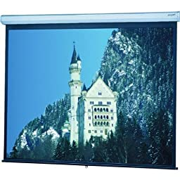 Model C Matte White Manual Projection Screen Viewing Area: 70\