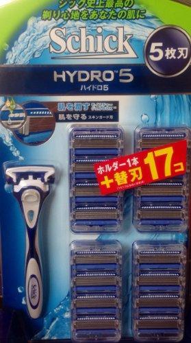 シック ハイドロ5 ホルダー1本+ 替刃