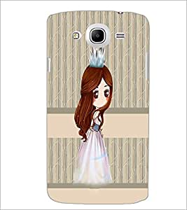 PrintDhaba Princess Doll D-3841 Back Case Cover for SAMSUNG GALAXY MEGA 5.8 (Multi-Coloured)