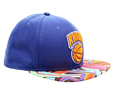 New Era 59Fifty New York Knicks Visor Real Graffiti Mens Fitted Hat... by New Era