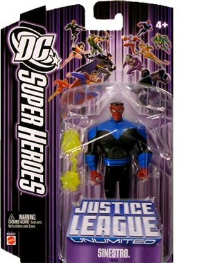 Justice League Unlimited Sinestro Action Figure - 1