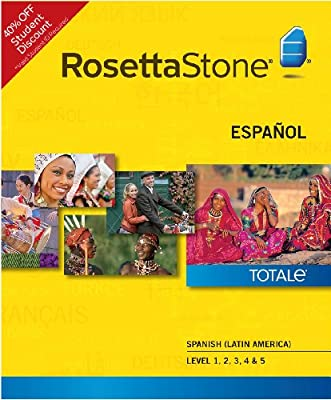 Rosetta Stone Spanish (Latin America) Level 1-5 Set - Student Price (PC) [Download]
