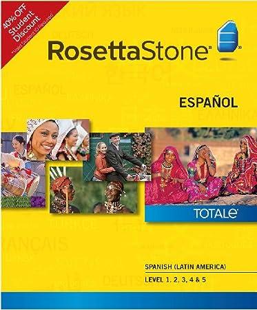 Rosetta Stone Spanish (Latin America) Level 1-5 Set - Student Price (PC) [Download]
