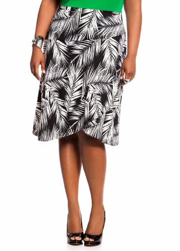 Ashley Stewart Women's Plus Size Tropical Short