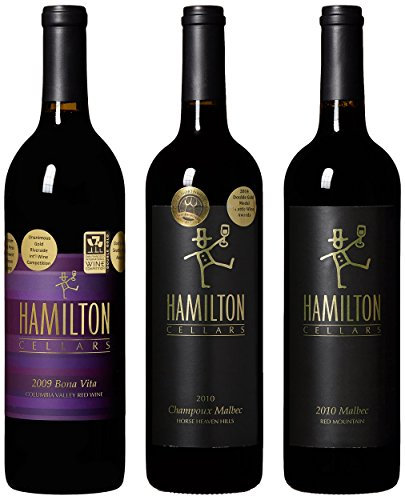 "Hamilton Cellars ""Double Gold Medal Reds"" Mixed Pack, 3 X 750 Ml"