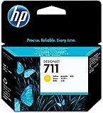 HP CZ132A CZ132A, HP-711, Ink, 29 mL,Yellow