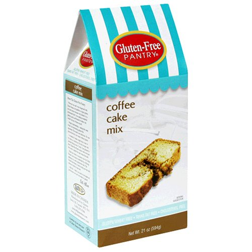 Buy The Gluten-Free Pantry Coffee Cake Mix, 21-Ounce Boxes (Pack of 6)