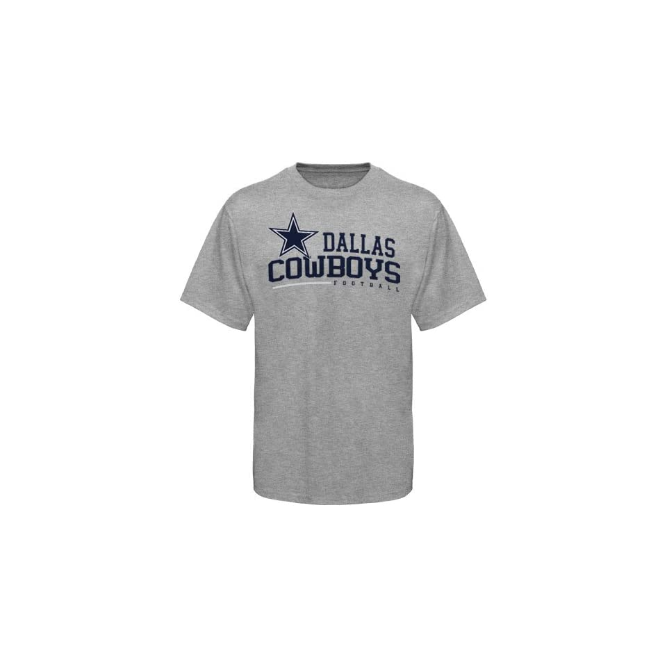 Dallas Cowboys Arched Horizon T Shirt Ash (Small) on PopScreen 3bc1d748b