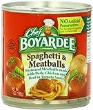 Chef Boyardee In Tomato Sauce Spaghetti and Meatballs, 7oz (Pack of 24)