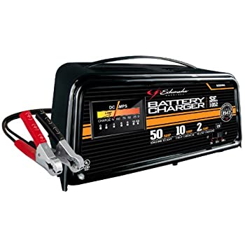 Starter/charger for the economy minded user.  Slow charges too.  For 12 volt batteries.