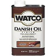 Rust Oleum 242218 Low VOC Watco Danish Oil Finish-LVOC NATURAL DANISH OIL
