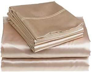 scent sation satin alternatives twin extra long sheet set linen pillowcase and. Black Bedroom Furniture Sets. Home Design Ideas