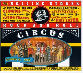 The Rolling Stones Rock and Roll Circus artwork