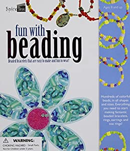 Fun with Beading: Beaded Bracelet That Are Easy To Make And Fun To Wear from SpiceBox Books