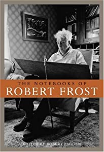 """Cover of """"The Notebooks of Robert Frost"""""""