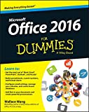 img - for Office 2016 For Dummies (For Dummies (Computer/Tech)) book / textbook / text book