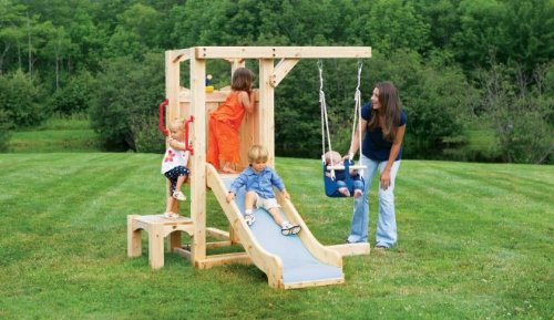 Cedarworks Frolic 4 Swing Set