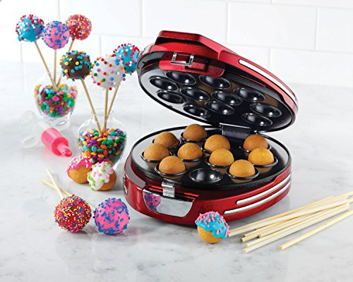 Nostalgia RCPM900 Retro Series Cake Pop & Donut Hole Maker (Donut Hole Machine compare prices)