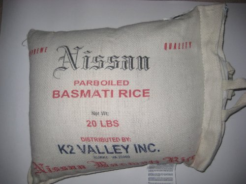 Sinf- Nissan Basmati Parboiled Sela Rice 1121 Grade, 20-Pounds