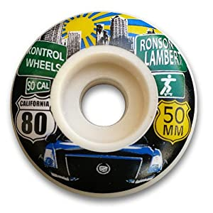 Buy Kontrol Wheels Lambert Pro Skateboard Wheel by Kontrol Wheels