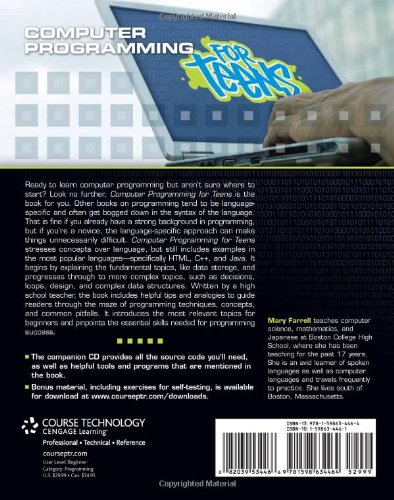 Computer Programming for Teens (For Teens (Course Technology))