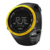51YYQUFvsnL. SL160  Suunto Core Wrist Top Computer Watch with Altimeter, Barometer, Compass, and Depth Measurement (Black/Yellow)