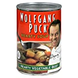 Wolfgang Puck Hearty Vegetable Beef Soup, 14.5-Ounce Cans (Pack of 12) ~ Wolfgang Puck