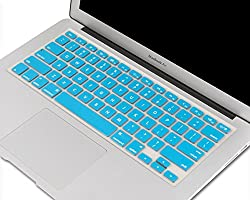 Heartly Premium Soft Silicone Keyboard Skin Crystal Guard Protector Cover For MacBook Air 11