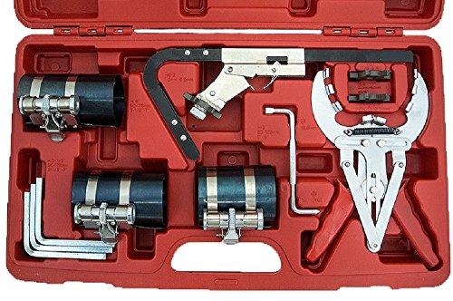 Engine Piston Ring Service Compressor Tool Set