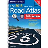USA, Large Scale Road Atlas, 2013 (Rand McNally Large Scale Road Atlas U. S. A.)