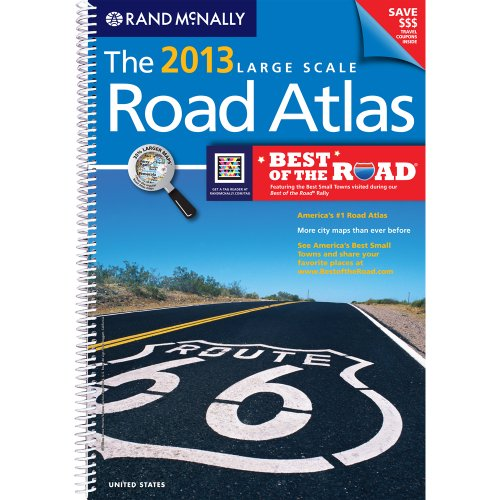 USA, Large Scale Road Atlas, 2013 (Rand Mcnally Large Scale Road Atlas USA)