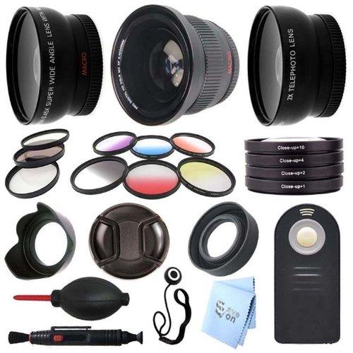 Sony Alpha A3000 Digital Slr Camera 49Mm Primary Lens And Filer Set