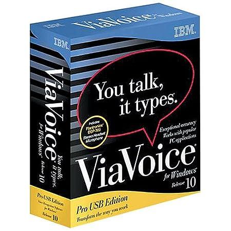 IBM  ViaVoice 10 Pro USB (Windows)