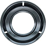 "Range kleen Drip Pan Porcelain / Black 8.25"", Single Pack"