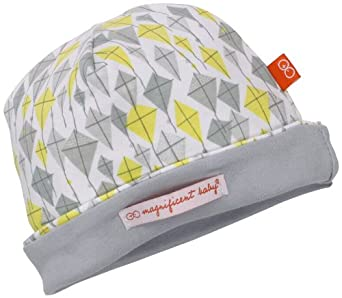 Magnificent Baby Unisex Newborn Reversible Cozy Cap, Kites, One Size