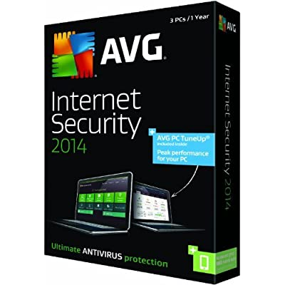 AVG Internet Security + PC TuneUp 2014 - 3 PCs